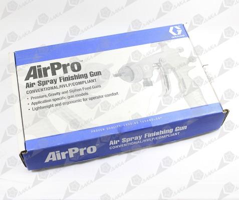Упаковка  пневматического краскораспылителя на примере AirPro
