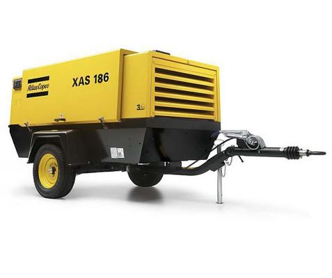 Компрессор передвижной дизельный Atlas Copco  XAS 186