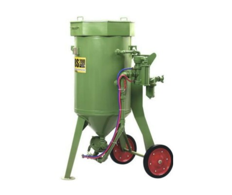 Пескоструйный  аппарат DBS-200 RC с дистанционным управлением