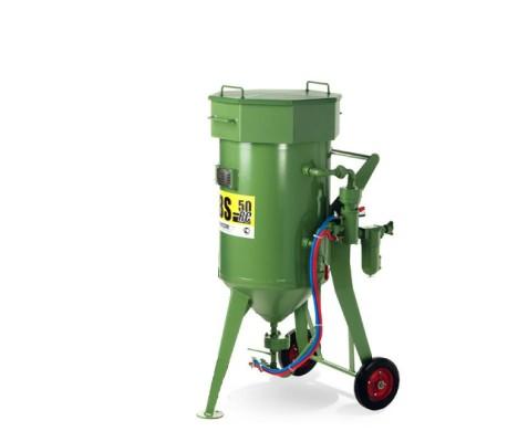 Пескоструйный  аппарат DBS-50 RC с дистанционным управлением