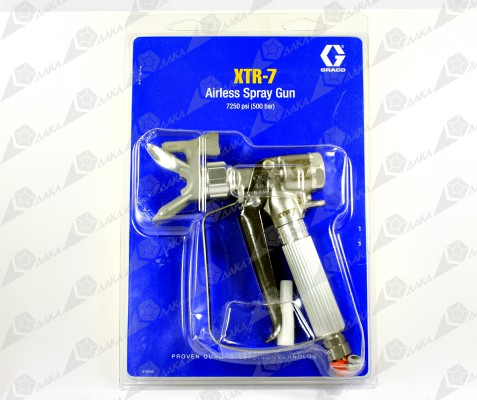 Упаковка краскораспылителя XTR-7