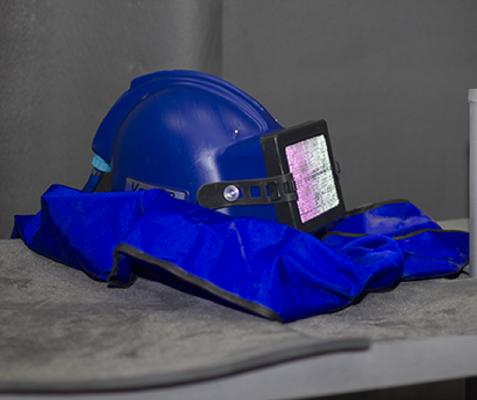 Шлем пескоструйщика купить в Компании ДАКА в Екатеринбурге