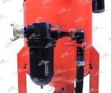 Аппарат BLASTCOR-100 может быть оснащен высокоэффективным воздушным фильтром-масловлагоотделителем «MMS», осуществляющим очистку воздуха поступающего в аппарат от компрессора,