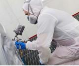 Комбинезон для защиты маляра от краски Kimberly-Clark 97940 KLEENGUARD A40 c капюшоном